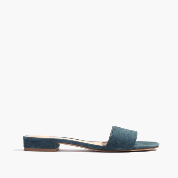 beeb3d199e7 Madewell Shoes - Madewell The Caren Slide Sandal In Suede